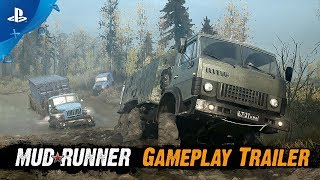 Spintires: MudRunner | Gameplay Trailer | PS4