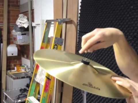 How To Set Up The Crash Cymbal Stand