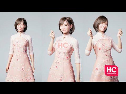 LYSA - Huawei's Virtual Person 😍😍😍