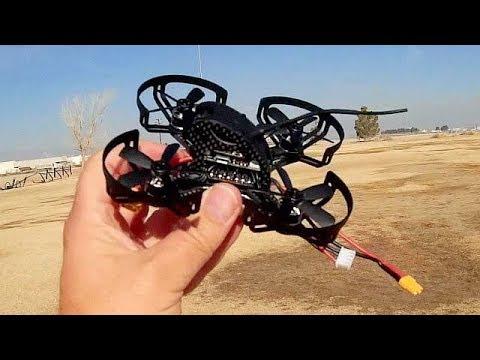 Furibee QAV95 Brushless Micro FPV Racer Drone Flight Test Review