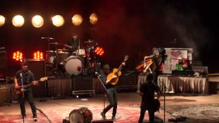 "Avett Brothers ""Slight Figure of Speech"" Red Rocks, Morrison, CO 07.11.14"