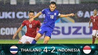 Indonesia 2 Vs Thailand 4 Highlights AFF Suzuki Cup 2016