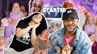 WHO PISSED IGGY OFF?! | Iggy Azalea - Started (Official Music Video) [REACTION]