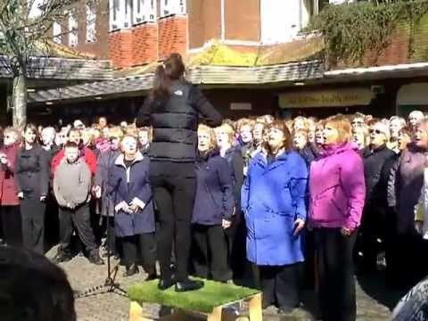 Rock Choir Flash Mob CLIP0013