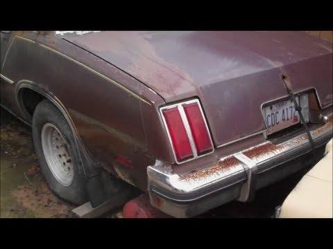 1979 Cutlass Parts Car Classic G Body Garage