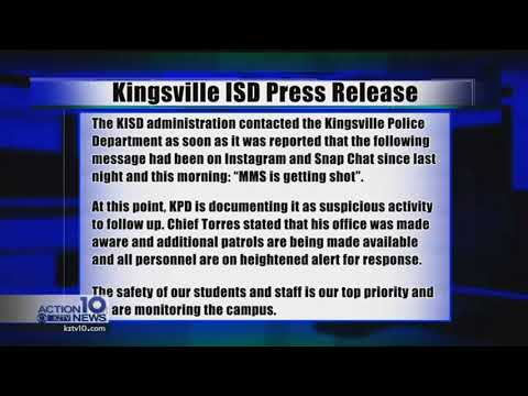 Kingsville PD Press RElease - YouTube