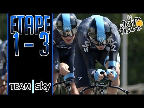 Tour de France 2015 | Team Sky | Etape 1 à 3