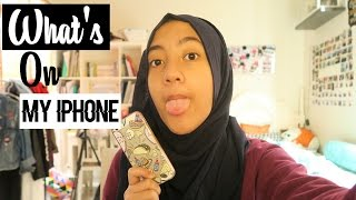WHAT'S ON MY IPHONE | (INDONESIA)