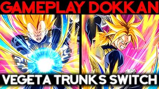 Test Vegeta Trunks F2P ! Le switch, pétard mouillé ? DOKKAN