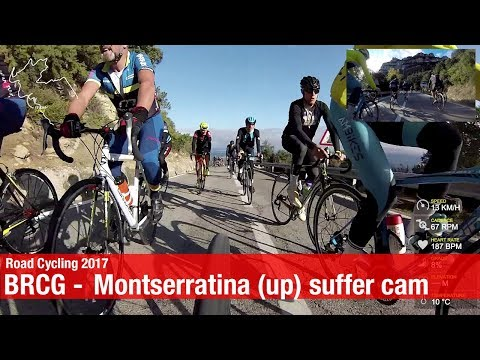 BRCG - La Montserratina 2017 suffer cam - Cycling in Barcelona Spain // Canyon Ultimate CF SLX
