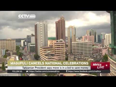 Tanzania President Cancels Public Celebrations
