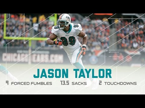 Every Jason Taylor Sack, Strip, & INT From his 2006 DPOY Season (Highlights) | NFL