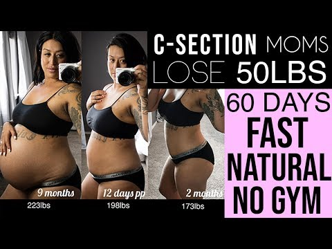 how-i-lost-50lbs-in-60-days-|-after-c-section-|-#natural-no-gym-weight-loss