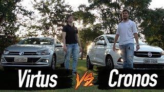 Comparativo Vw Virtus X Fiat Cronos (2018)  | Top Speed