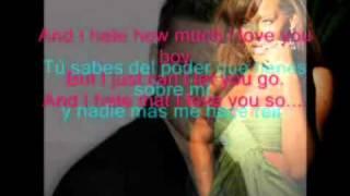 David Bisbal Hate that I love you karaoke