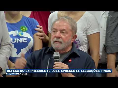 Defesa do ex-presidente Lula apresenta alegações finais