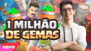 1 MILHÃO DE GEMAS | CLASH ROYALE | PARÓDIA The Weeknd - Starboy (official) ft. Daft Punk
