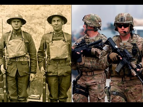 100 Years Evolution of the U.S. Military