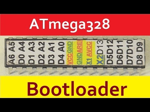 ATmega328 Bootloader Arduino UNO ISP загрузить в контроллер загрузчик