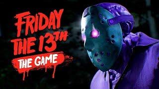 ДИСКО ДЖЕЙСОН РУБИТ ДЕТИШЕК!! - Friday the 13th: The Game