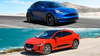 2020 Tesla Model Y vs 2018 Jaguar I-Pace - Electric SUV comparison
