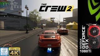 The Crew 2 Closed Beta PC Ultra Settings 4K | GTX 1080 Ti | i7 8700K 5.2GHz