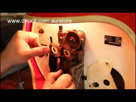 Abloy Key Machine Code Copy Syd wmv - YouTube