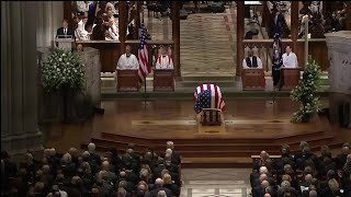 Raw Video: President George W. Bush Delivers Eulogy At Father's Funeral