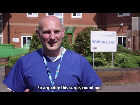 Covid Response: Wotton Lawn Mental Health Inpatient Unit