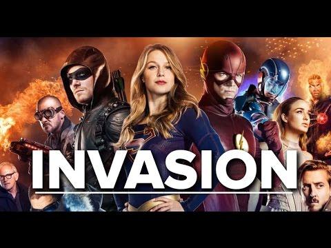 Invasion - Flash, Arrow, Supergirl, Legends Of Tomorrow ...