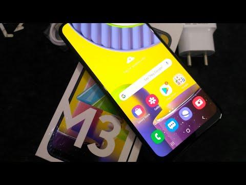 Unboxing Samsung Galaxy M31 Ocean Blue, 6GB & 64GB Variant - Unboxing Host Samsung Galaxy M31 Review