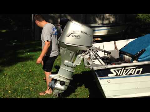30hp Honda Outboard Motor For Sale Youtube