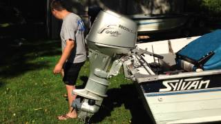 30HP Honda Outboard Motor - For Sale