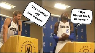 Dirk Nowitzki says he knows he'll come off the bench, DeAndre Jordan announces he's the Black Dirk streaming