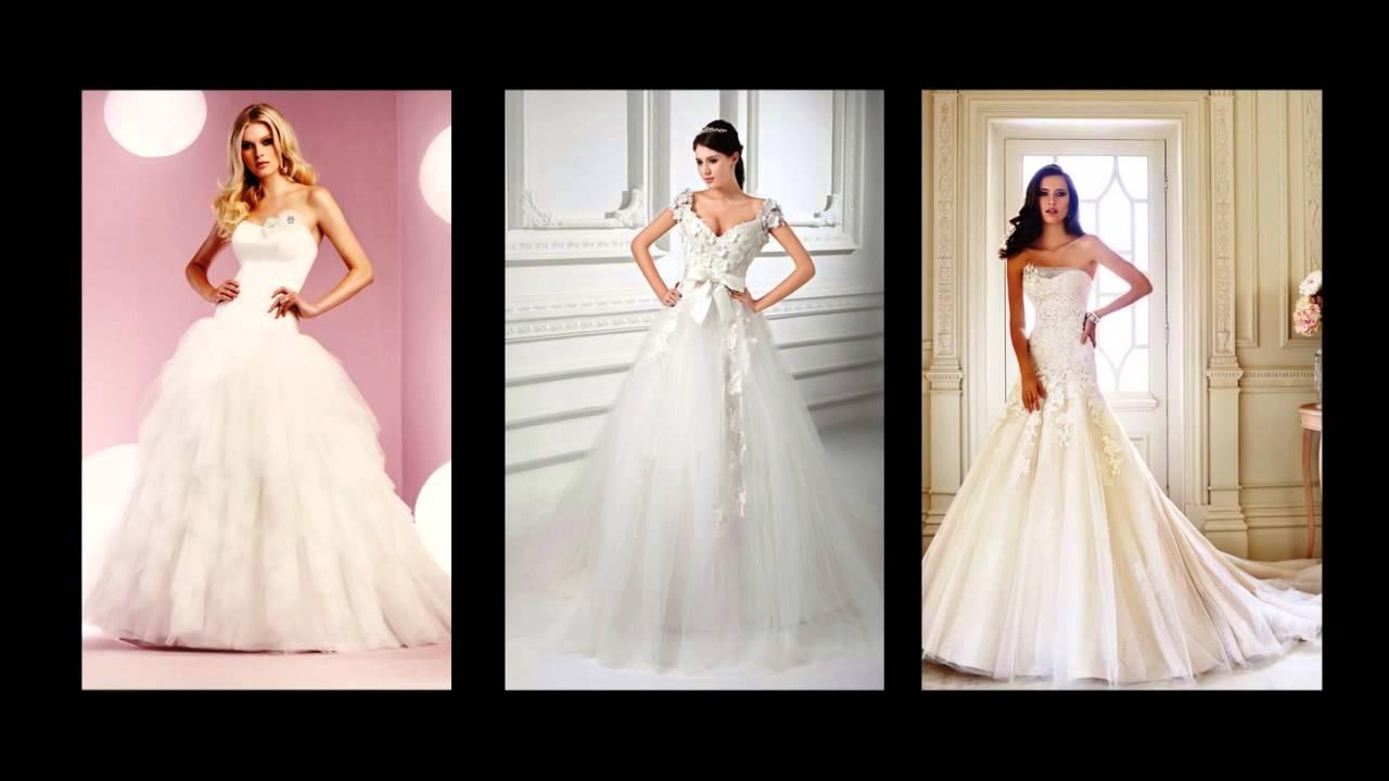 e09f618c7 Vestido novia princesa - YouTube