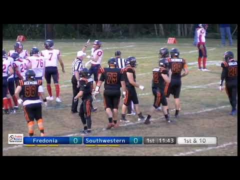 Fredonia High School Varsity Football Vs Southwesterm  Central 9/27/19
