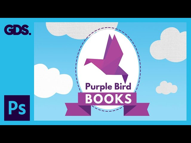 Create a origami bird logo Ep29/33 [Adobe Photoshop for Beginners]