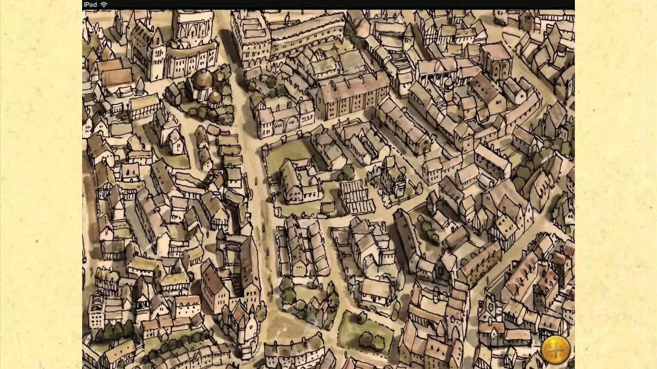 Ankh Morpork Map Discworld: The Ankh Morpork Map App Trailer   YouTube