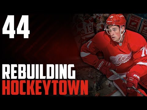 "NHL 17 - Detroit Red Wings Franchise Mode #44 ""Philly"""