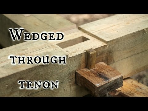 Download Youtube: Our Timber frame cabin Part V: Wedged through tenons