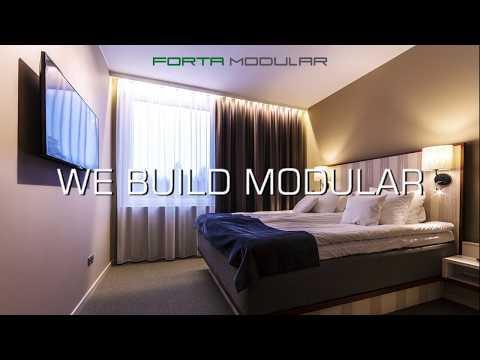 Forta Modular First 2018 Seminar, Arlanda Hotel, Stockholm