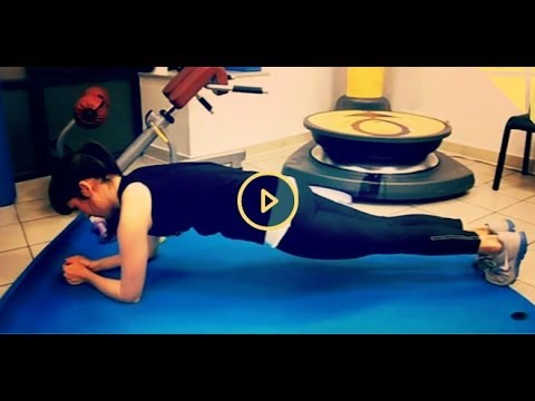 Gainage exercice de la planche pour abdos youtube for Abdos fessiers exercices a la maison
