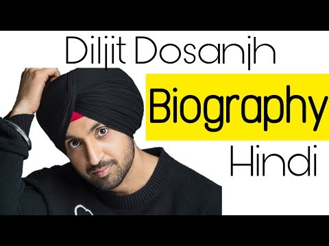 Diljit Dosanjh Biography in hindi ||Animated By Viral Dilse