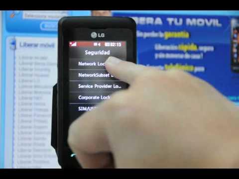 Como liberar lg kp502 de vodafone por c digo en www - Movical net liberar ...