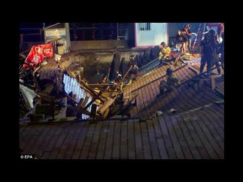Music Lovers Injured After Stage Collapses At Spanish Urban Musical Festival