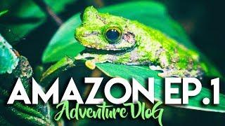 AMAZON JUNGLE CHALLENGE ADVENTURE VLOG - EP. 1