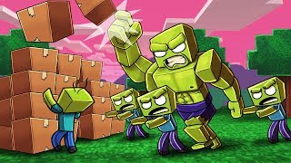 Minecraft | ZOMBIE BOX FORT DEFENSE! (Box Fort vs Zombie Apocalypse)