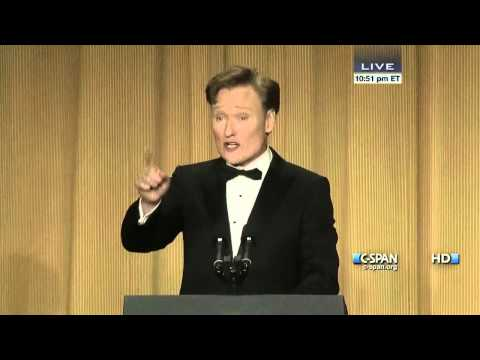 Conan O'Brien remarks at 2013 White House Correspondents' Dinner (C-SPAN)