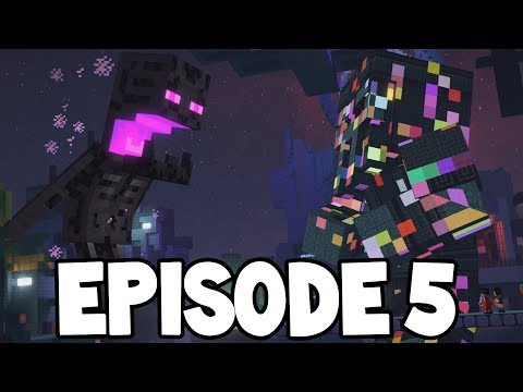 """Minecraft Story Mode: Season 2 - EPISODE 5 - FIRST LOOK! """"Above and Beyond"""""""