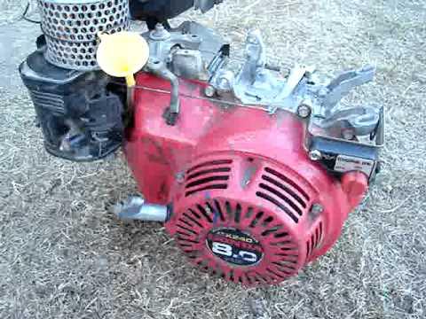 Elegant Rebuilt Honda Generator Engine After Being Completely Seized From No Oil